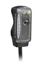Sensore fotoelettrico a riflessione coassiale / retroriflettente / rettangolare / luce rossa