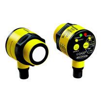 Sensore di distanza cilindrico / ad ultrasuoni / a uscita analogica / compatto