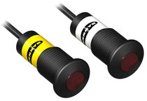 Sensore fotoelettrico a barriera / cilindrico / infrarosso / LED