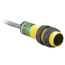Sensore fotoelettrico retroriflettente / cilindrico / laser / a tenuta stagna