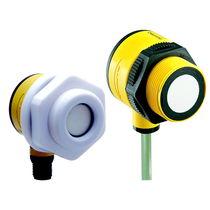Sensore di distanza cilindrico / ad ultrasuoni / a uscita analogica / programmabile