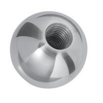 Manopola sferica / in ottone / filettata