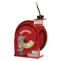 Avvolgitore per cavi / a richiamo automatico / su staffa / resistente alla corrosione