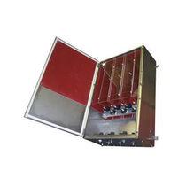 Scatola elettrica a muro / in metallo / per distribuzione elettrica