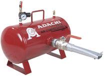 Serbatoio per aria compressa / metallo / di stoccaggio / orizzontale
