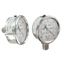 Manometro a tubo Bourdon a liquido / con quadrante / di processo / in acciaio inossidabile