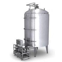 Serbatoio asettico / per bevande / di stoccaggio / di processo