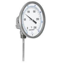 Termometro bimetallico / analogico / da inserire / in acciaio inossidabile
