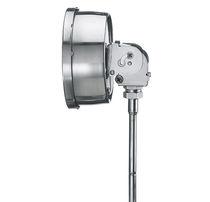 Termometro a gas / analogico / da inserire / in acciaio inossidabile