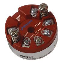 Trasmettitore di temperatura su testa di sonda / universale / analogico / programmabile