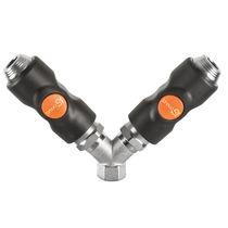 Raccordo push-to-lock / a Y / pneumatico / in composito