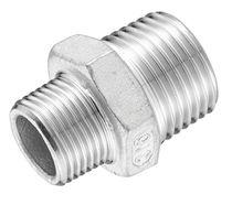 Adattatore idraulico / di riduzione / filettato / in acciaio inossidabile
