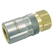 Raccordo rapido / dritto / idraulico / in cromo