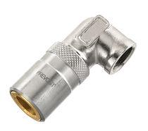 Raccordo rapido / gomito a 90° / idraulico / in cromo