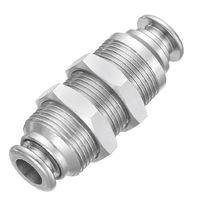 Raccordo push-in / dritto / idraulico / in ottone nichelato
