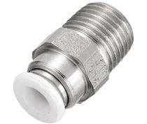 Raccordo push-to-lock / dritto / pneumatico / idraulico