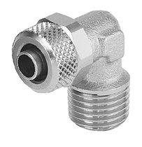 Raccordo rapido / gomito a 90° / pneumatico / idraulico