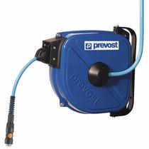 Avvolgitore a richiamo automatico / chiuso / con montaggio a parete / per aria compressa