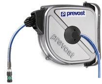 Avvolgitore a richiamo automatico / chiuso / per aria compressa / in acciaio inox