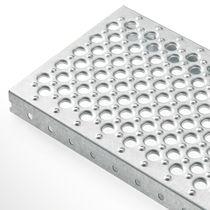 Grigliato metallo / in lamiera / per scaffalatura