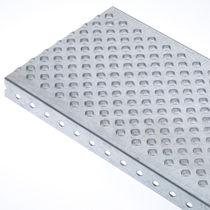 Grigliato metallo / in lamiera / per spazi umidi / antiscivolo
