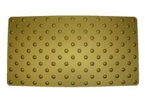 Tappeto antiscivolo / in alluminio anodizzato / podotattile