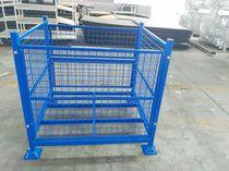 Cassa-pallet in plastica / in rete metallica / di stoccaggio