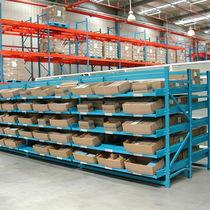 Scaffalatura magazzino di stoccaggio / per carichi medi / per scatole / dinamica