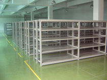 Scaffalatura magazzino di stoccaggio / per carichi medi / semi-pesante / regolabile