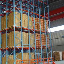 Scaffalatura per pallet / magazzino di stoccaggio / per carichi pesanti / per scatole