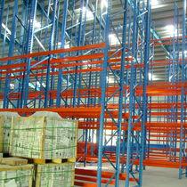 Scaffalatura a paletta / magazzino di stoccaggio / per carichi pesanti / semi-pesante