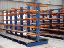 Scaffalatura cantilever / per carichi pesanti / per carichi lunghi / semi-pesante