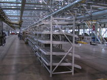 Scaffalatura magazzino di stoccaggio / per scatole / dinamica