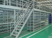 Scaffalatura magazzino di stoccaggio / per carichi pesanti / per archivio / con soppalco