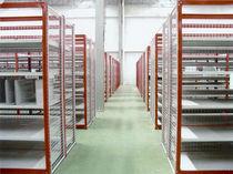 Scaffalatura magazzino di stoccaggio / per carichi leggeri / semi-pesante / unilaterale