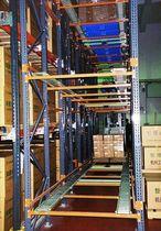 Scaffalatura push-back / per carichi pesanti / per scatole / grande altezza