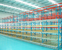 Scaffalatura magazzino di stoccaggio / dinamica / in acciaio