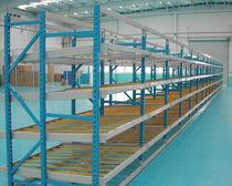 Scaffalatura magazzino di stoccaggio / per carichi medi / dinamica / in acciaio