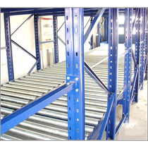 Scaffalatura magazzino di stoccaggio / per carichi medi / leggera / dinamica