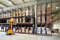 Scaffalatura magazzino di stoccaggio / per carichi pesanti / per scatole / dinamica