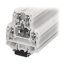 Morsetto componibile con connessione a vite / su guida DIN / a fusibile