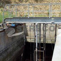 Sistema di rimozione del fango per bacino di sedimentazione