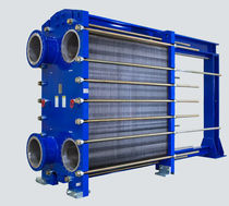 Scambiatore di calore a piastre e guarnizioni / liquido-gas / in titanio / ad alte prestazioni