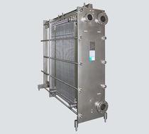Scambiatore di calore a piastre e guarnizioni / liquido / liquido / per l'industria alimentare e delle bevande / per prodotti viscosi