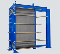 Scambiatore di calore a piastre e guarnizioni / liquido / liquido / a flusso libero / per l'industria della carta