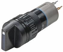 Interruttore con manopola di selezione / multipolare / luminoso / elettromeccanico