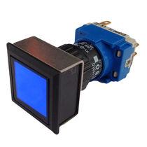 Indicatore luminoso LED / montato su pannello / IP65 / rettangolare