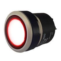 Indicatore luminoso LED / montato su pannello / IP67 / rotondo