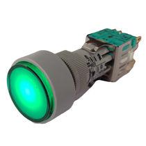 Pulsante unipolare / luminoso / elettromeccanico / standard