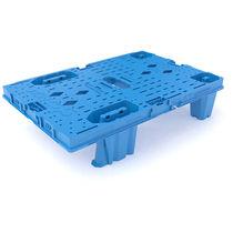 Pallet in plastica / euro / da trasporto / incastrabile